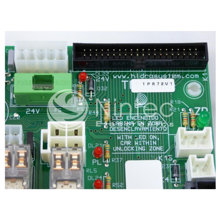 Repair of Carlos Silva TPR72 PCB