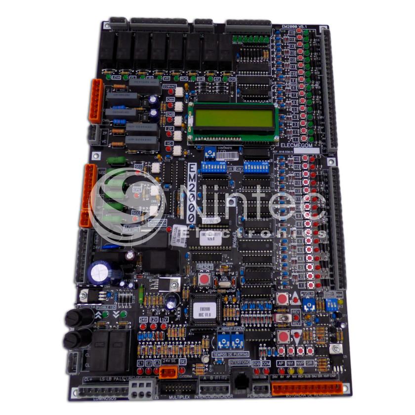 Repair of Elec-Megom EM2000 PCB