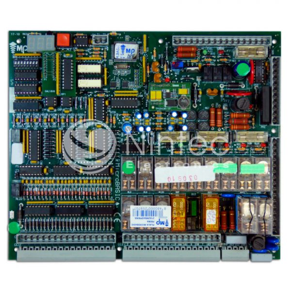 Reparar Microbasic Prima MP MacPuarSA placa ascensor