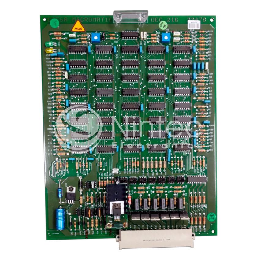 Repair of Micromatic DEG-216 Elevator PCB (manufacturer Schindler / GIESA).