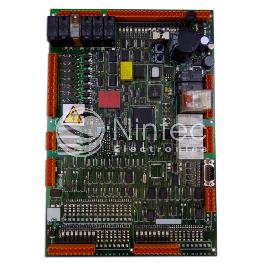 Repair of Sistel Smartlift 9809 PCB