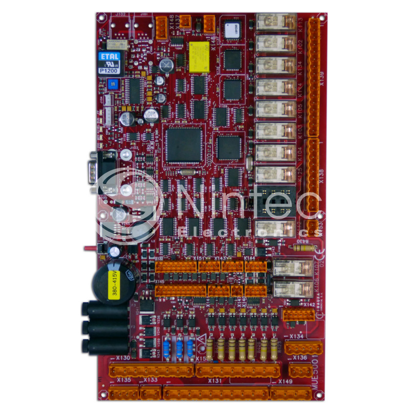 Repair of Sistel MUE-5001 PCB