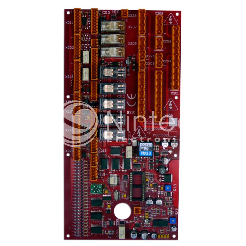 Repair of Sistel MUE-5002 PCB
