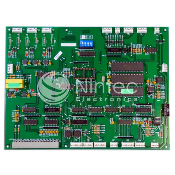 Reparar Serie F Biplaca CPU Thyssen placa ascensor