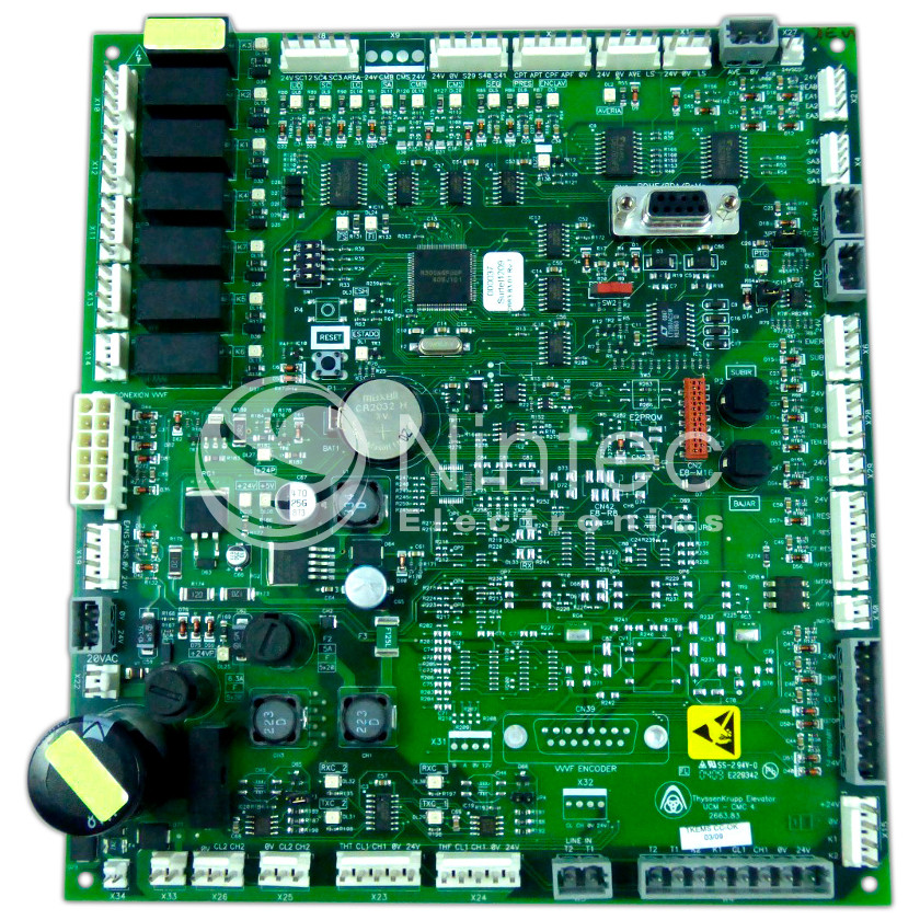 Repair of Thyssen CMC-4 UCM PCB