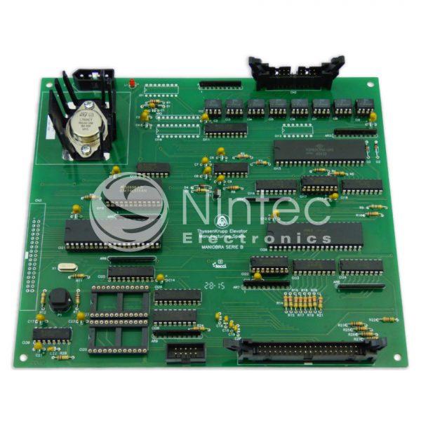 Réparer Serie B CPU Thyssen carte ascenseur