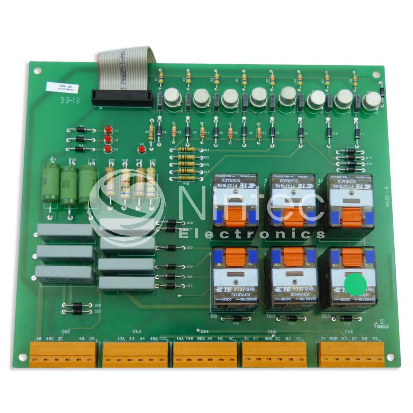 Repair B Series Relays Thyssen PCB