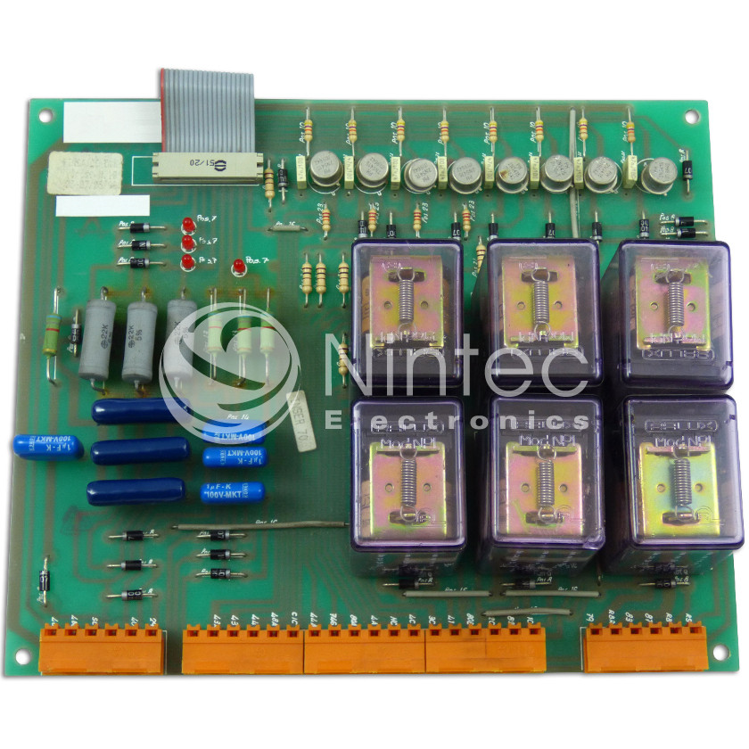 Repair of Thyssen B Series Relays PCB
