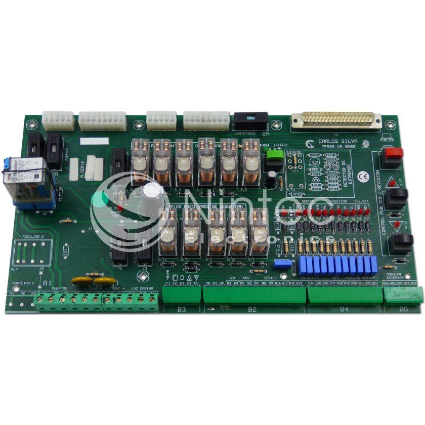 Repair of Carlos Silva TPR22 PCB
