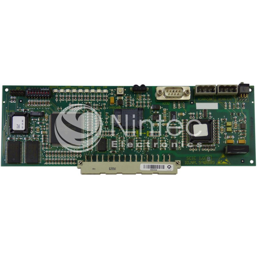 Repair of Schindler SMART SCIC 1.Q PCB