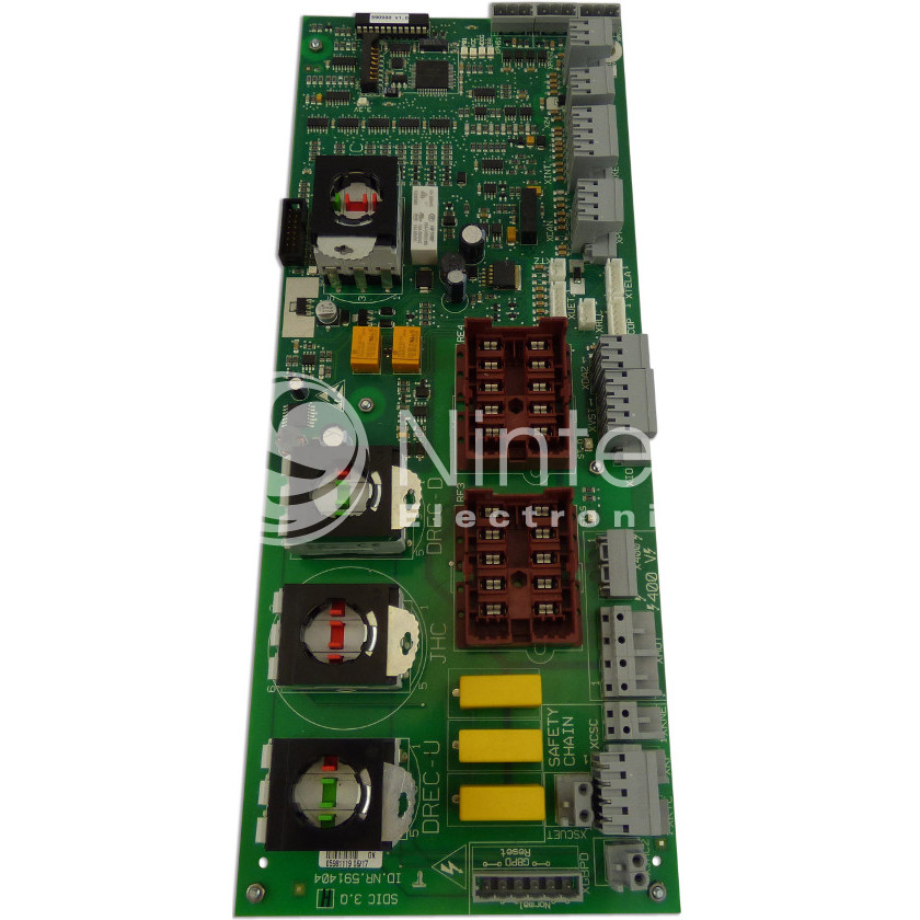 Repair of Schindler SMART SDIC 3.Q  PCB