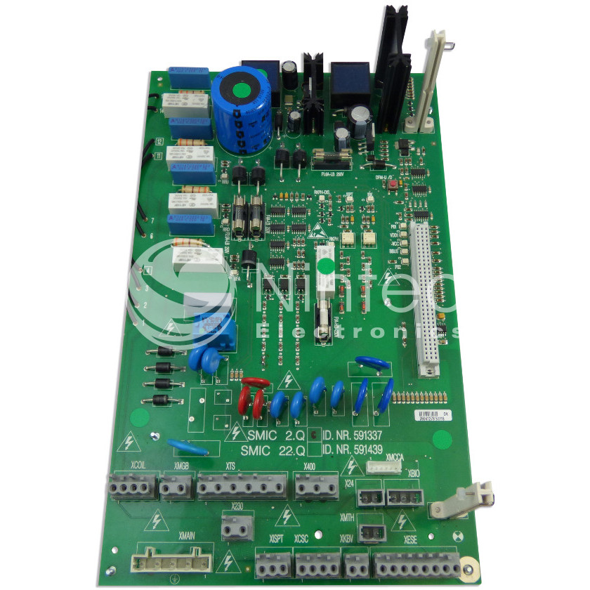 Repair of Schindler SMART SMIC 2.Q PCB
