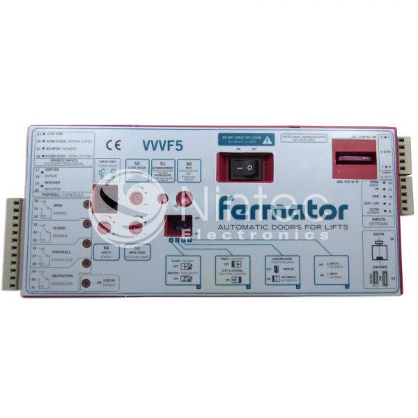 Reparar variador de puerta ascensor VVVF5 de Fermator