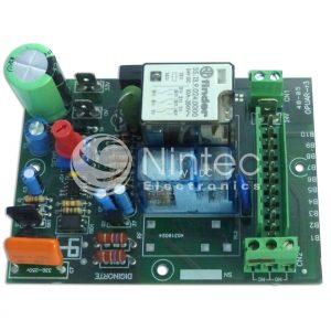 Reparar placa OPUAR-R3 del operador de puerta MAC 24V