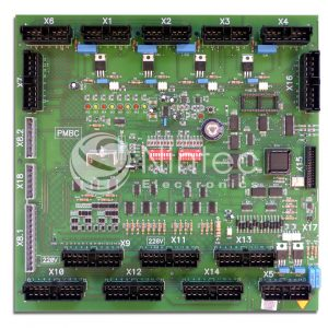Repair fo Schindler PMBC V1 ECOTRAFIC PCB