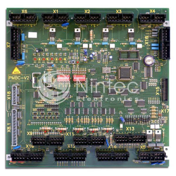 Réparation PMBC V2 Schindler PCB
