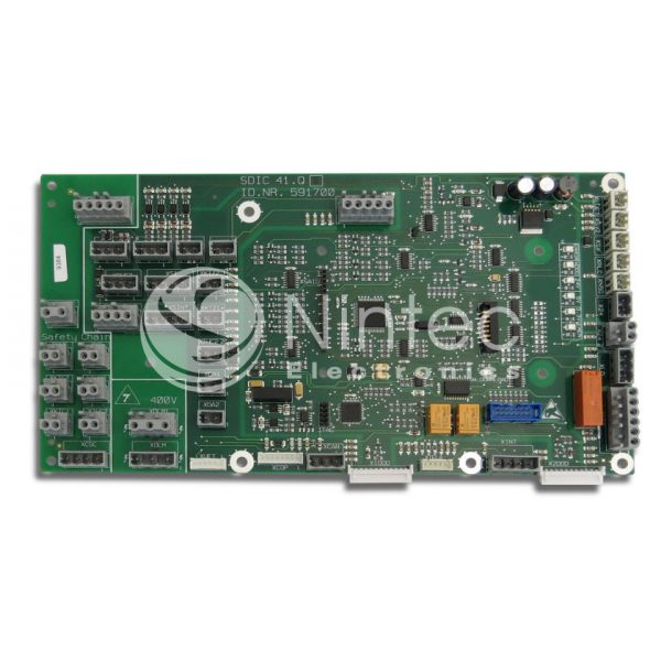 Reparar Miconic BX SDIC41Q Schindler PCB